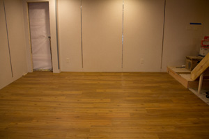MillCreek wood flooring installed over ThermalDry® Decking