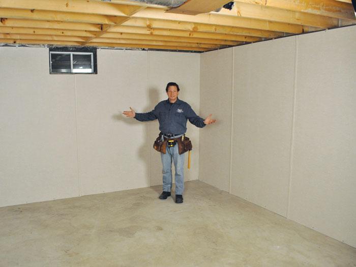 Insulated Basement Wall Panels Basement Wall Insulation