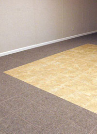 Basement Wood Flooring installed in Pikeville, West Virginia, Kentucky, Ohio