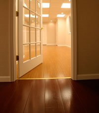 Basement Wood Flooring installed in Athens, West Virginia, Kentucky, Ohio