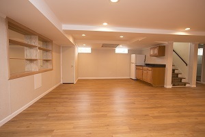 Basement finishing flooring in Saint Albans & nearby