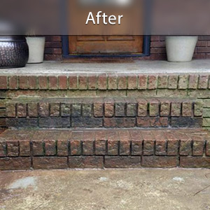 Sinking stairs repaired with PolyLevel® Saint Albans