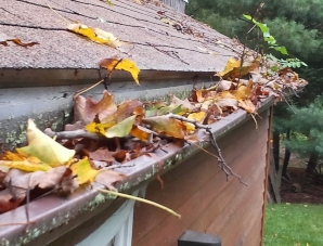 the Tri-State Area clogged gutters